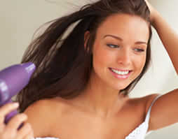Hair care tips 2 - blow dry don't fry your hair