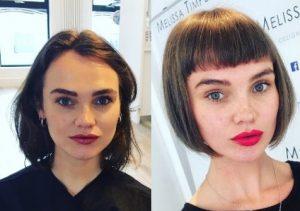 Fringe hairstyles 3