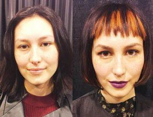 Fringe hairstyles 6