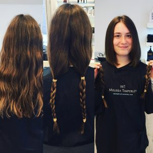Little Princess Trust - Hair donations via Melissa Timperley Salons