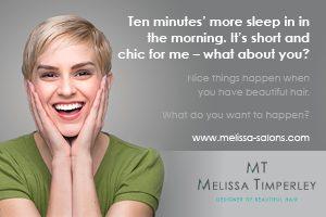 Melissa Salons ad 1 July 2017