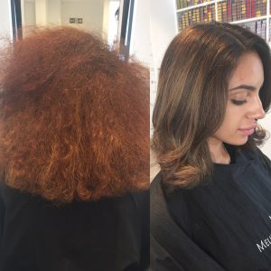 Melissa Salons treatments for frizzy hair