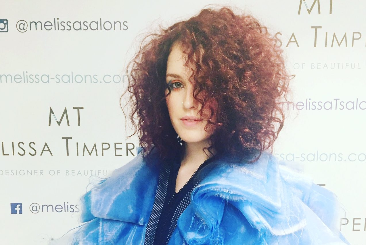 Curly hair styles Melissa Salons Manchester
