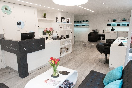 Once Inside The Melissa Timperley Manchester Hair Salon You Are Hit By Luxury Spa Like Feel Of Furniture And Colour Scheme