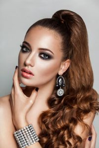 Updo hairstyle 8
