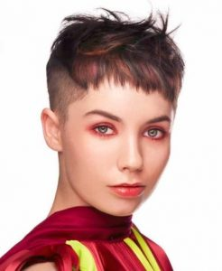 Striking Red Autumn hairstyles 2018