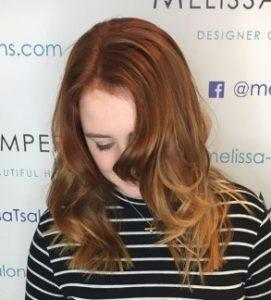 Copper tone Autumn hairstyles 2018
