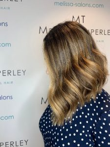 blonde and brunette balayage