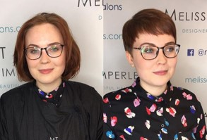 A stylish and elegant transformation in this hair makeover