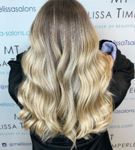 balayage hair care