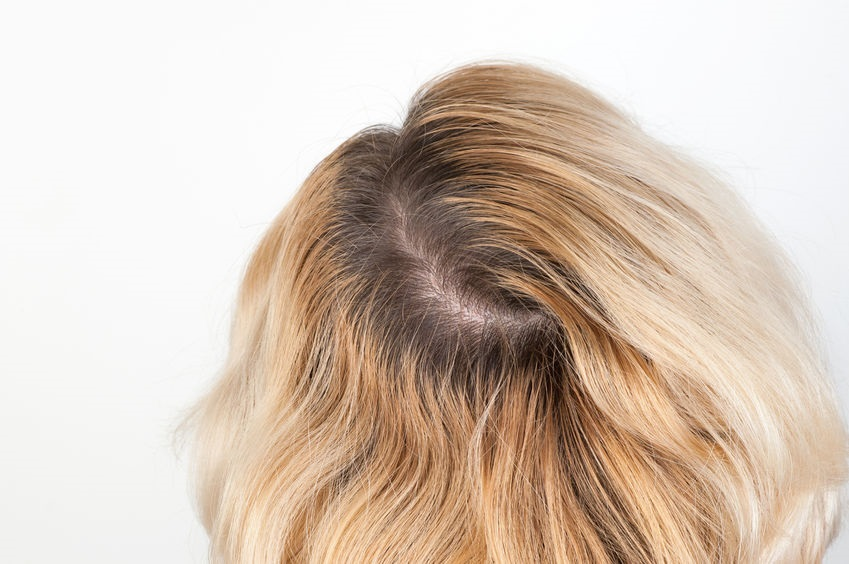 How to cover your roots without hair dye